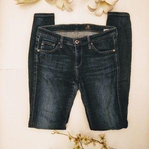 Adriano Goldschmied Dark Blue Wash Skinny Jeans
